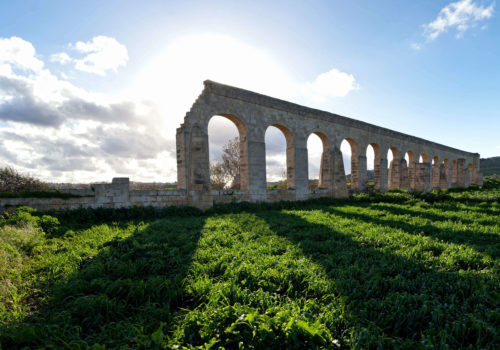 Aqueducts In Gozo, Malta
