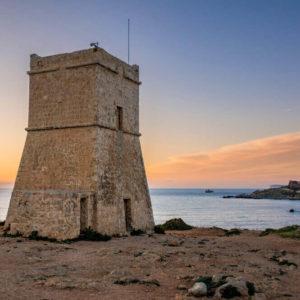 De Redin Tower In Malta