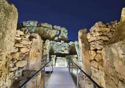 Ggantija Temples In Gozo, Malta