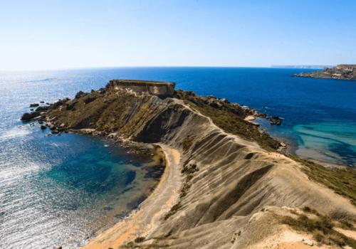 Ghajn Tuffieha & Golden Bay In Malta