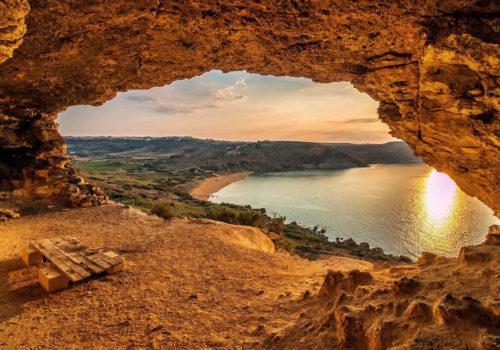 Mixta Cave In Gozo, Malta
