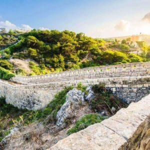 Victoria Lines (Wied Il-Faham) In Malta